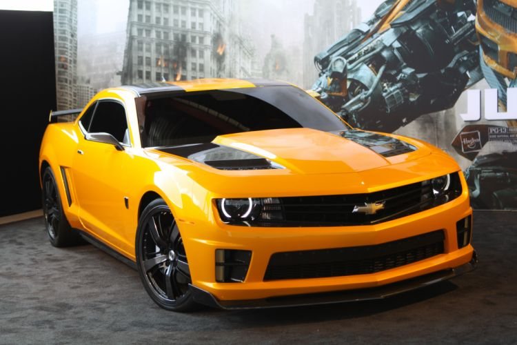 2012 Transformers 3 Bumblebee Camaro SS wallpaper