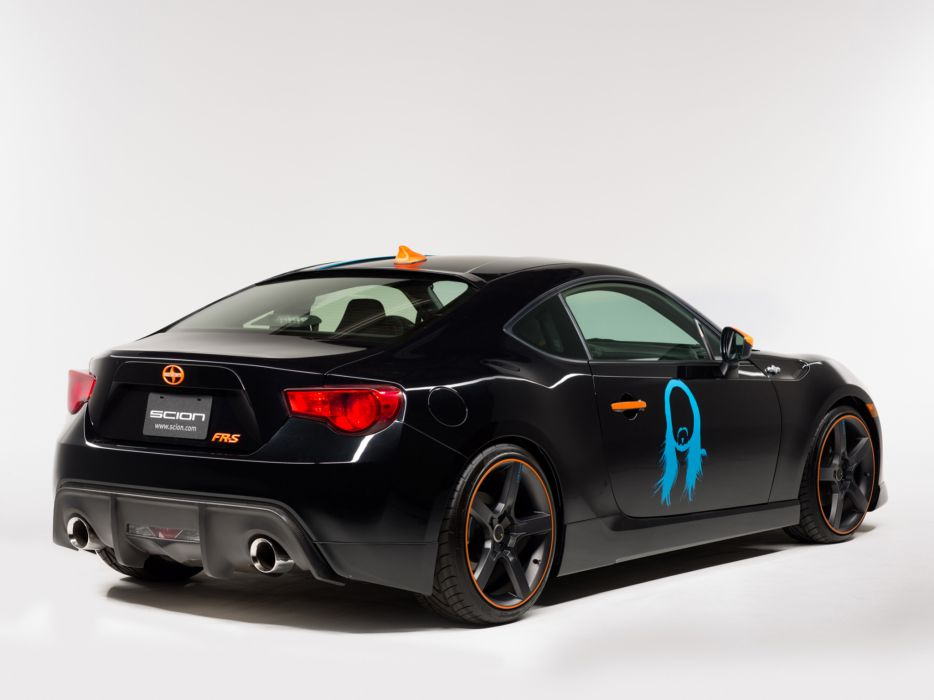 2014 Scion FR-S Steve Aoki Art Car tuning    f wallpaper
