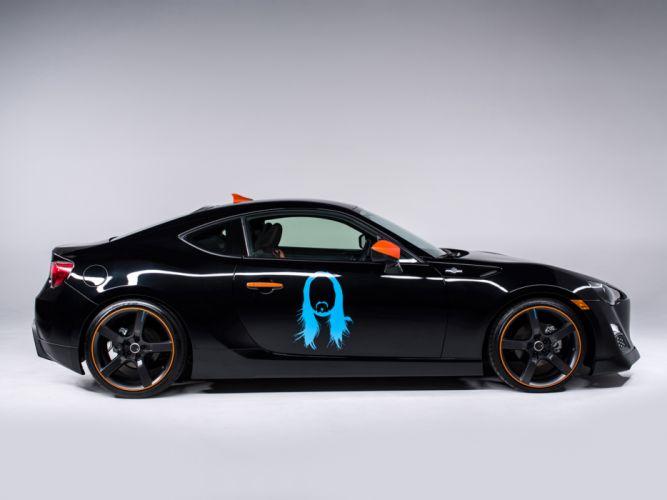 2014 Scion FR-S Steve Aoki Art Car tuning t wallpaper