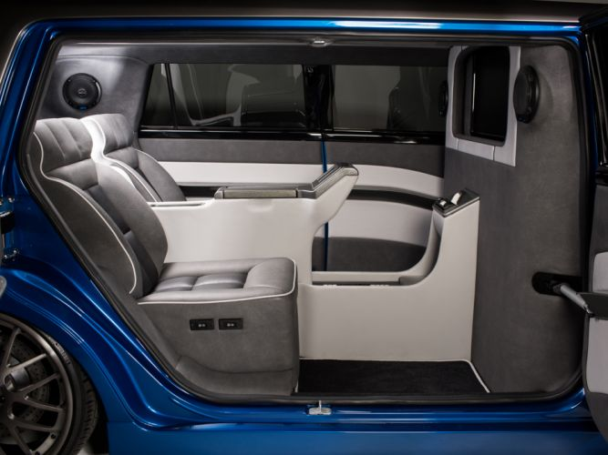 2014 Scion xB Strictly Business Cartel limousine tuning suv interior f wallpaper