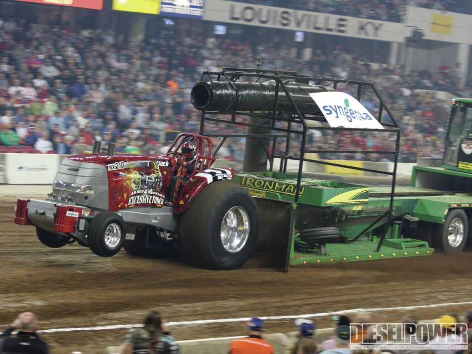 TRACTOR-PULLING race racing hot rod rods tractor  r wallpaper