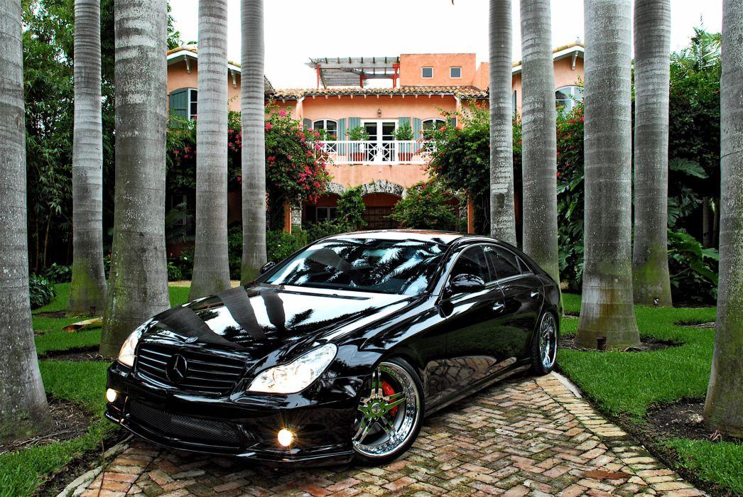 Mercedes CLS on SEVAS WHEELS R55 wallpaper