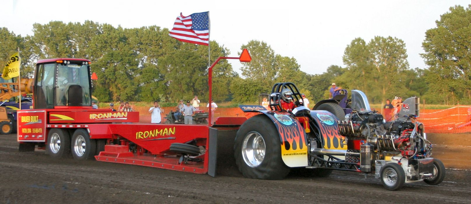 TRACTOR-PULLING race racing hot rod rods tractor engine    j wallpaper