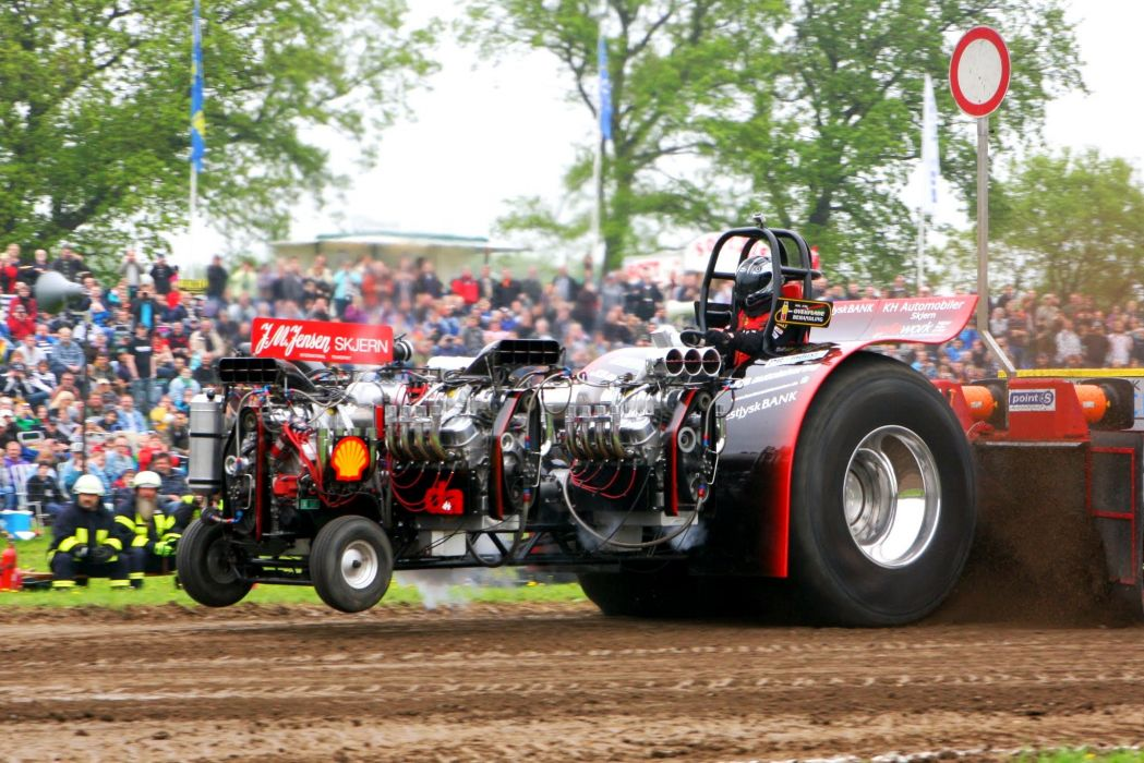TRACTOR-PULLING race racing hot rod rods tractor engine  yu_JPG wallpaper