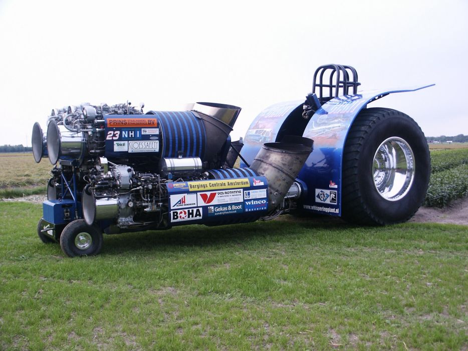 TRACTOR-PULLING race racing hot rod rods tractor engine jet   j wallpaper