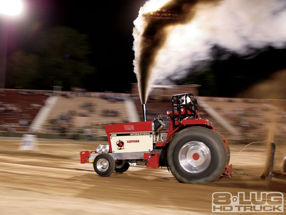 TRACTOR-PULLING race racing hot rod rods tractor international  ge wallpaper