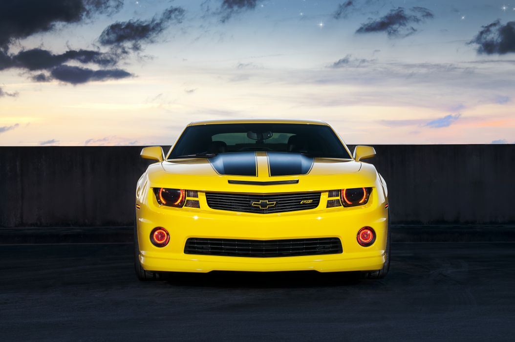 360 Yellow Camaro wallpaper