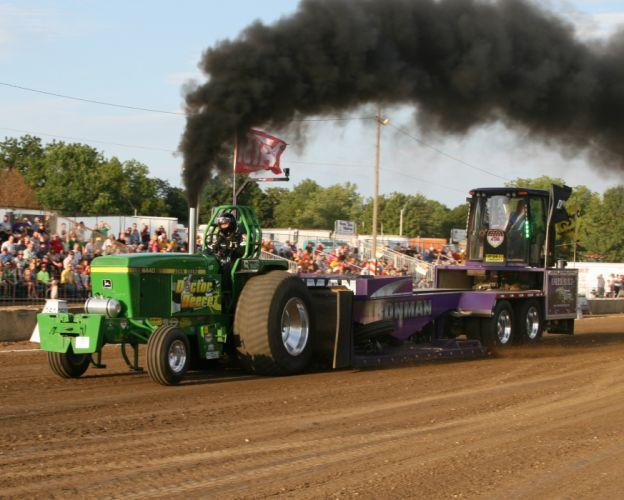 TRACTOR-PULLING race racing hot rod rods tractor john deere h wallpaper