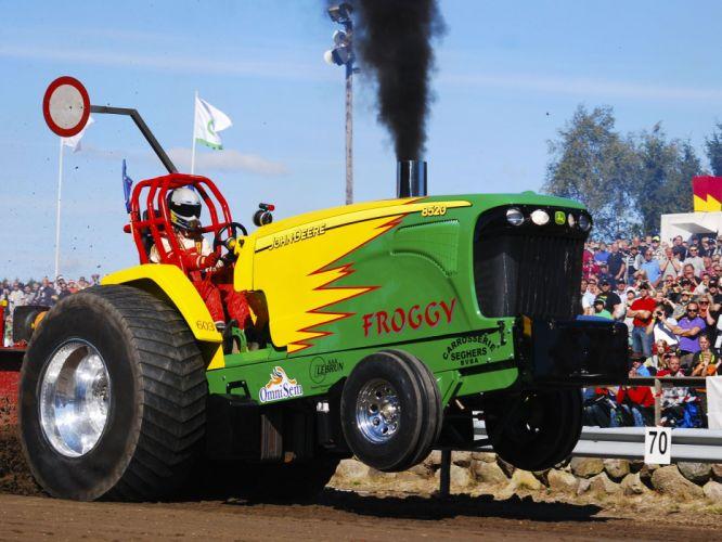 TRACTOR-PULLING race racing hot rod rods tractor john deere y wallpaper