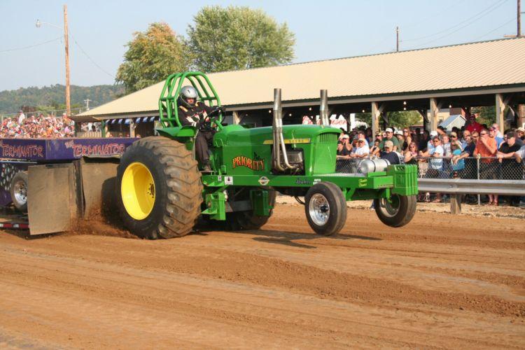 TRACTOR-PULLING race racing hot rod rods tractor john deere h_JPG wallpaper