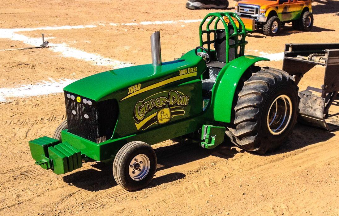 TRACTOR-PULLING race racing hot rod rods tractor john deere toy     j wallpaper