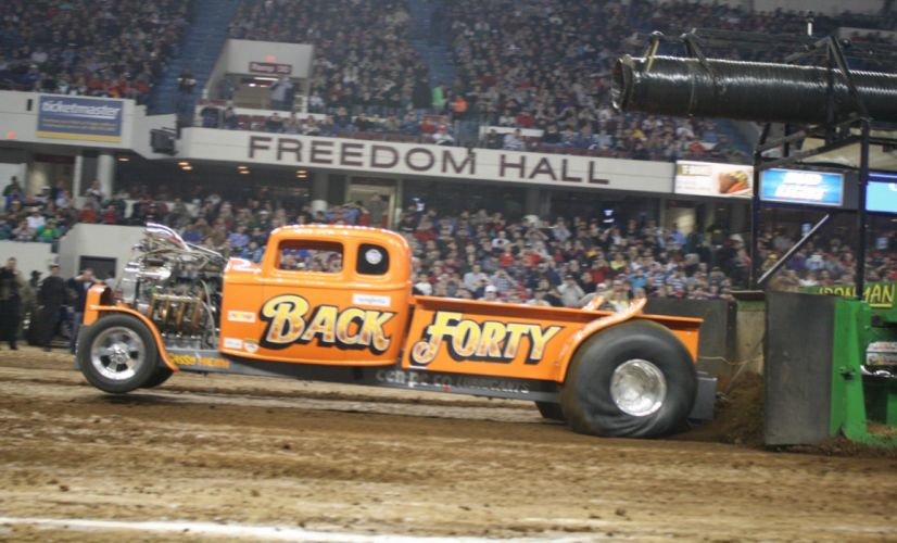 TRACTOR-PULLING race racing hot rod rods tractor pickup engine gg wallpaper