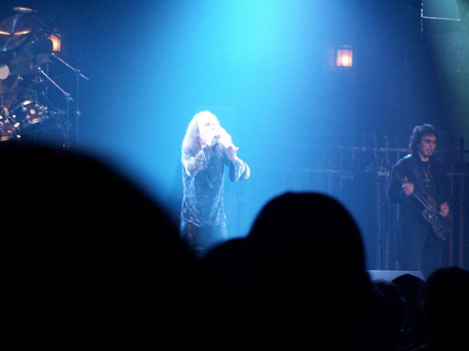 Ronnie James Dio black sabbath heavy metal concert   e wallpaper