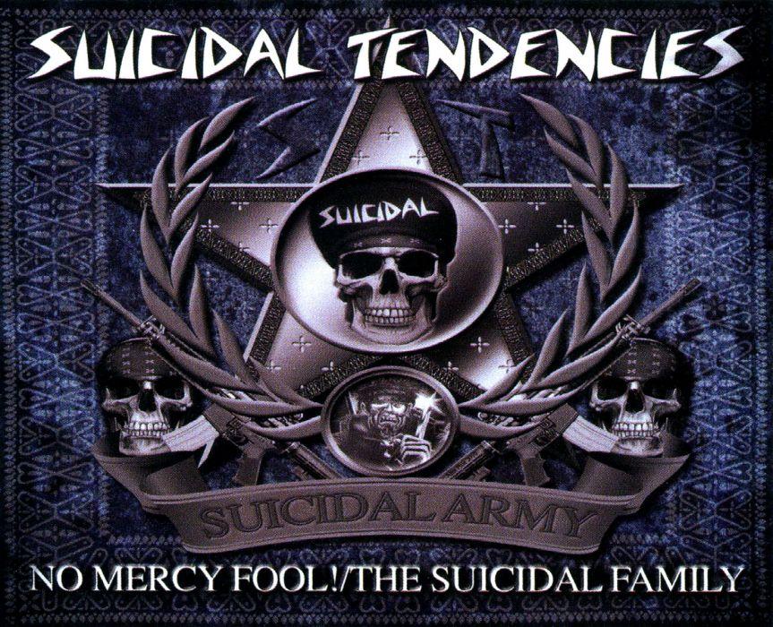 SUICIDAL TENDENCIES thrash metal heavy dark skull  gj wallpaper