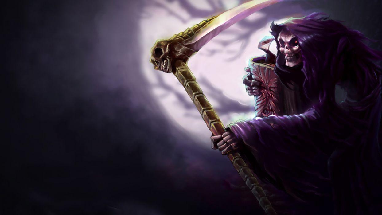 league of legends reaper dark fantasy      f wallpaper