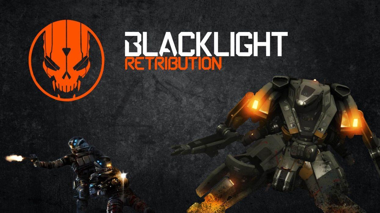 BLACKLIGHT RETRIBUTION sci-fi game    fd wallpaper
