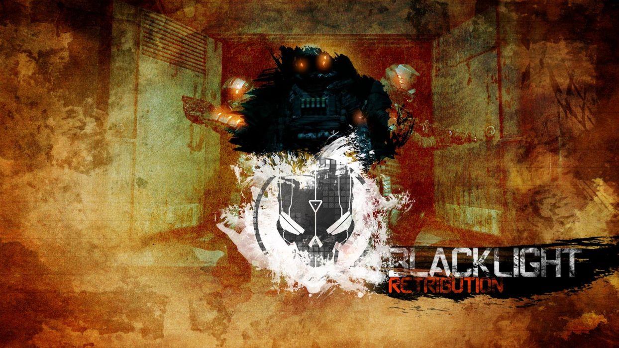 BLACKLIGHT RETRIBUTION sci-fi game   e wallpaper