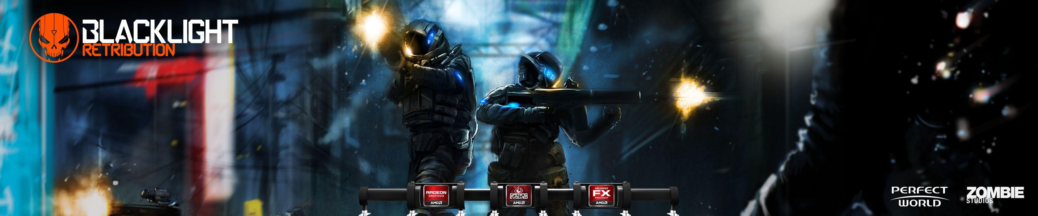 BLACKLIGHT RETRIBUTION sci-fi game    y wallpaper