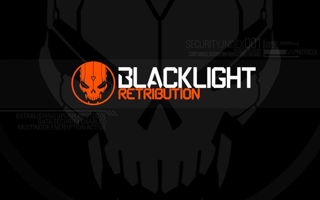 BLACKLIGHT RETRIBUTION sci-fi game  f wallpaper