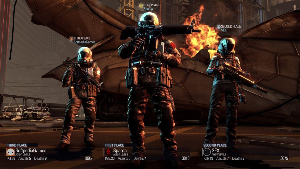 BLACKLIGHT RETRIBUTION sci-fi game  g wallpaper