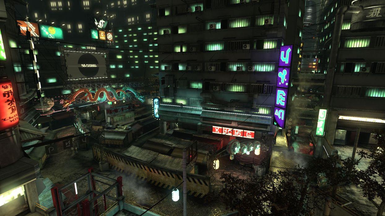 BLACKLIGHT RETRIBUTION sci-fi game city     g wallpaper