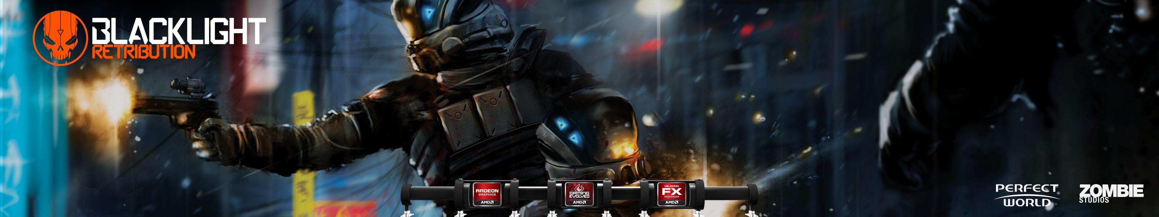 BLACKLIGHT RETRIBUTION sci-fi game  h wallpaper
