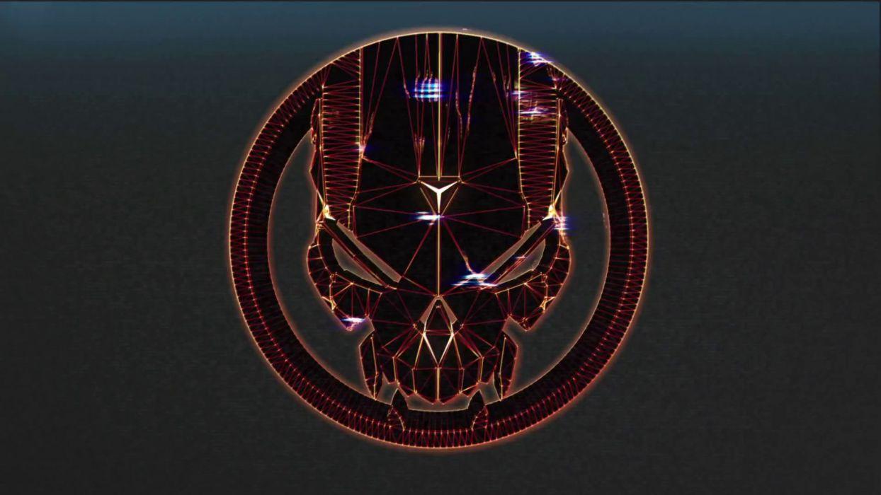 BLACKLIGHT RETRIBUTION sci-fi game dark skull         j wallpaper