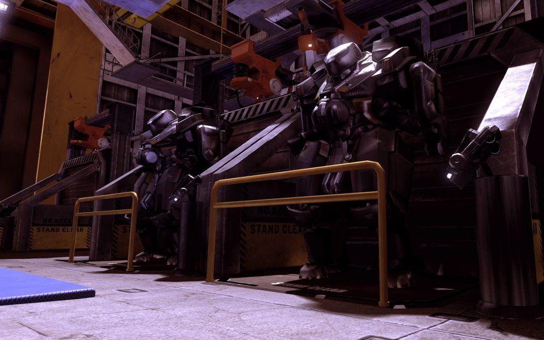 BLACKLIGHT RETRIBUTION sci-fi game mecha      g wallpaper