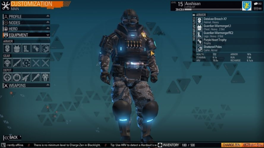 BLACKLIGHT RETRIBUTION sci-fi game warrior j wallpaper