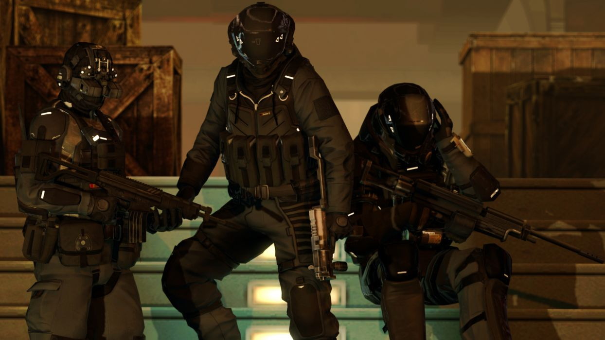 BLACKLIGHT RETRIBUTION sci-fi game warrior   jf wallpaper