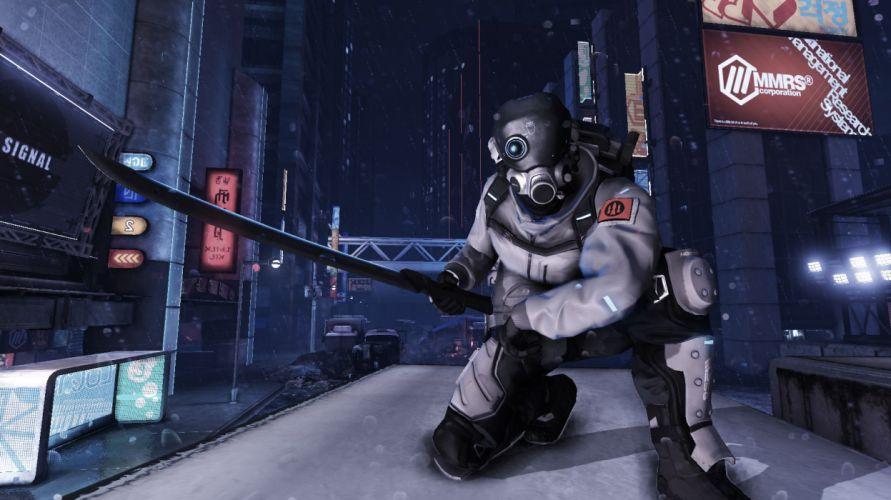 BLACKLIGHT RETRIBUTION sci-fi game warrior je wallpaper