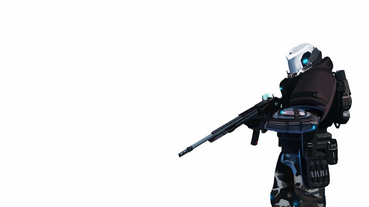 BLACKLIGHT RETRIBUTION sci-fi game warrior armor weapon gun     r wallpaper