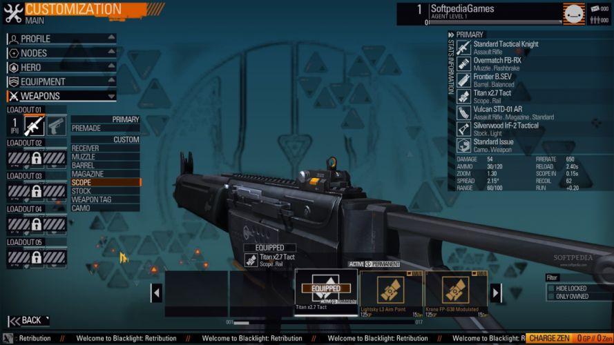 BLACKLIGHT RETRIBUTION sci-fi game weapon gun f wallpaper