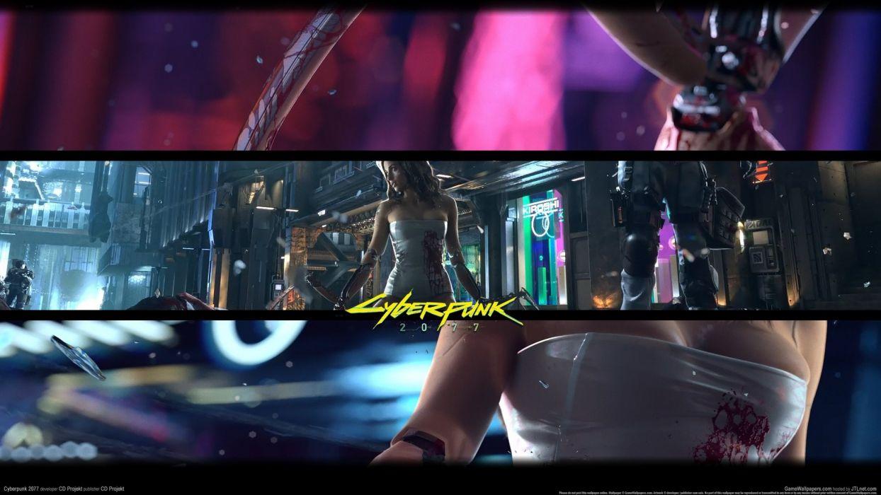 CYBERPUNK sci-fi game    rw wallpaper