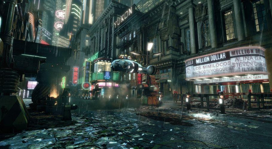 CYBERPUNK sci-fi game city g wallpaper