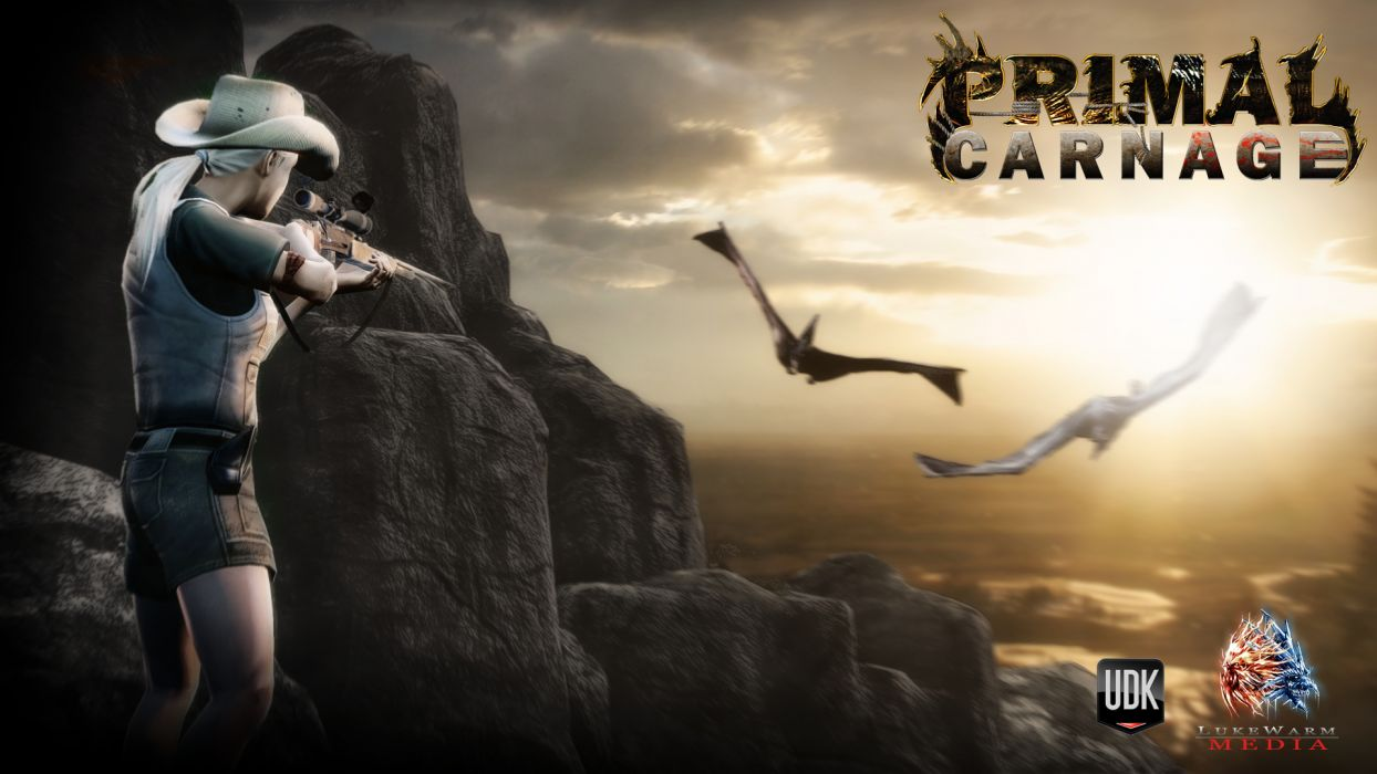 PRIMAL CARNAGE fantasy     u wallpaper