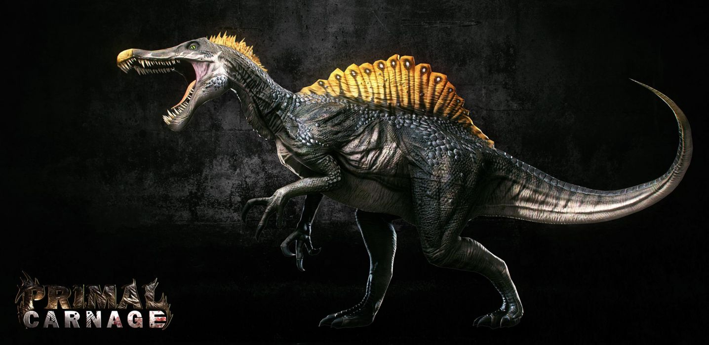 PRIMAL CARNAGE fantasy dinosaur            g wallpaper