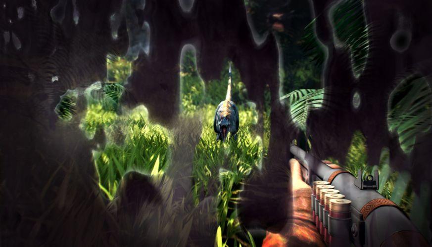 PRIMAL CARNAGE sci-fi fantasy weapon gun h wallpaper