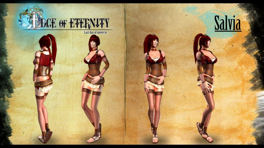Edge Of Eternity fantasy sci-fi game y wallpaper