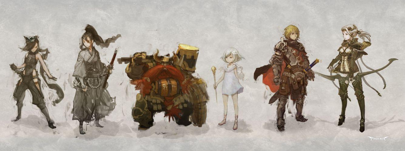 PROJECT PHOENIX fantasy anime game y wallpaper