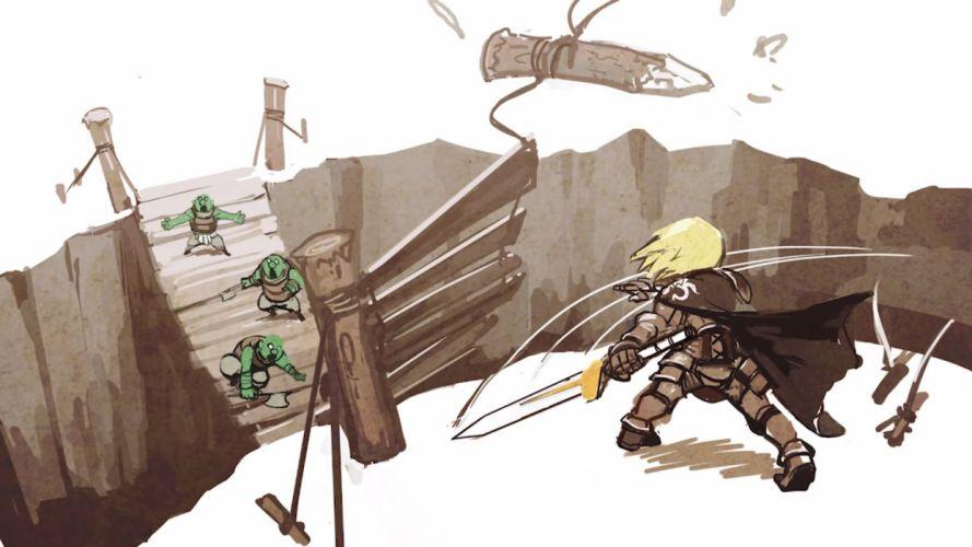 PROJECT PHOENIX fantasy anime game warrior g wallpaper