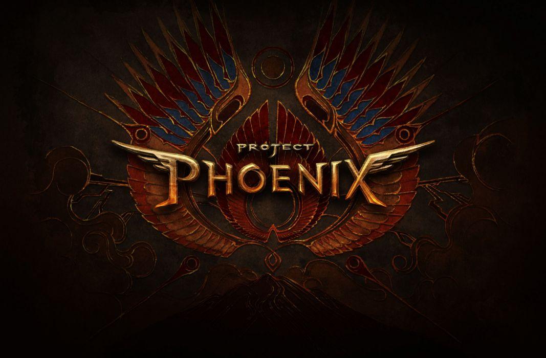 PROJECT PHOENIX fantasy anime game t wallpaper