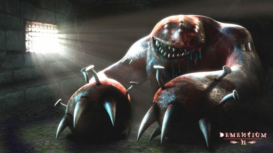 DEMENTIUM dark game monster d wallpaper