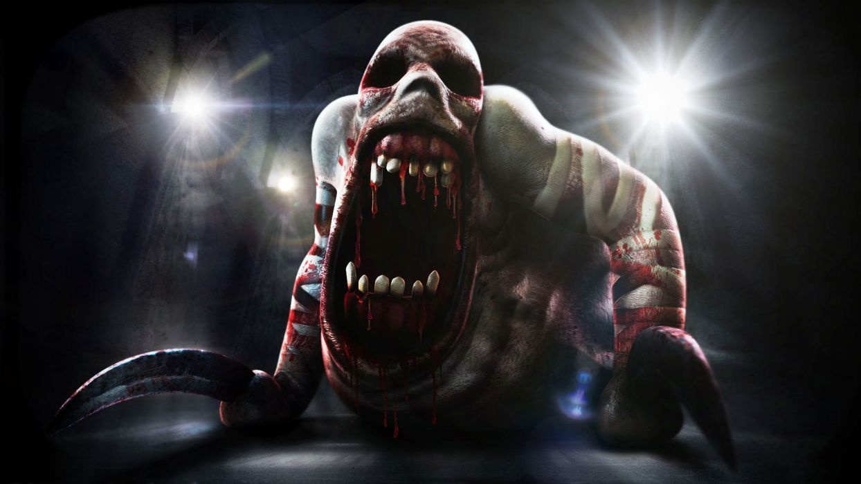 DEMENTIUM dark game monster blood         d wallpaper