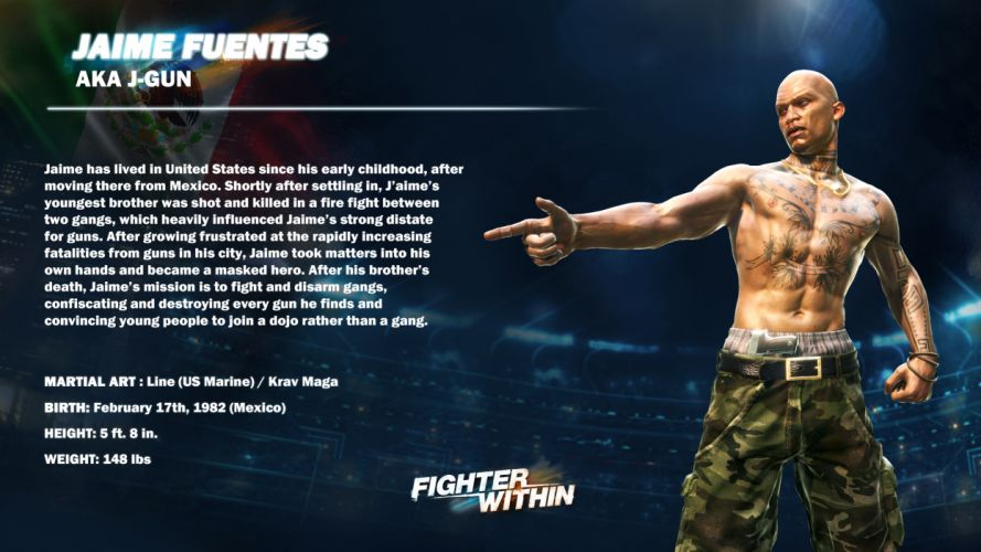 FIGHTER WITHIN action fighting game rt wallpaper