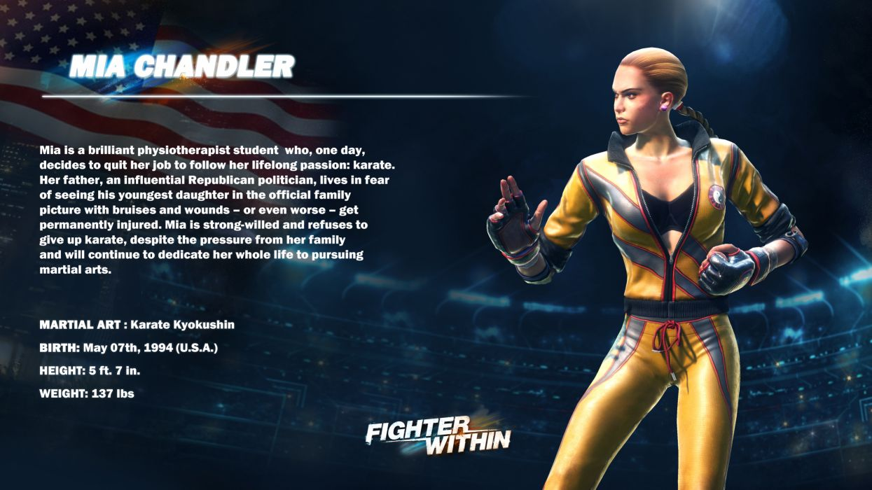 FIGHTER WITHIN action fighting game   rw wallpaper