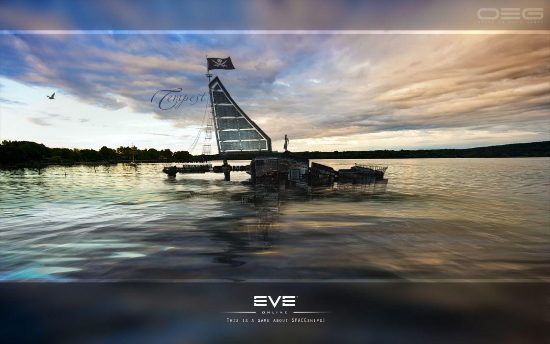 EVE ONLINE sci-fi game     6 wallpaper