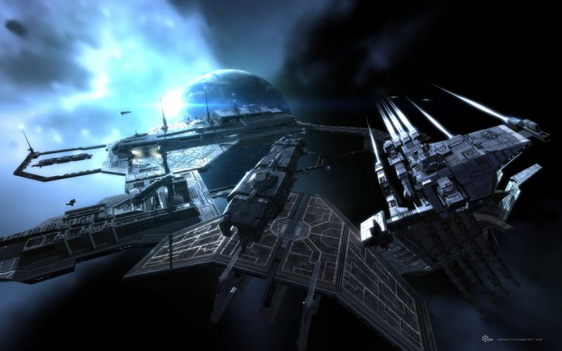 EVE ONLINE sci-fi game spaceship h wallpaper