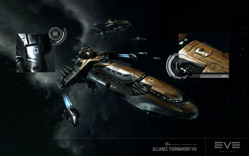 EVE ONLINE sci-fi game spaceship yr wallpaper
