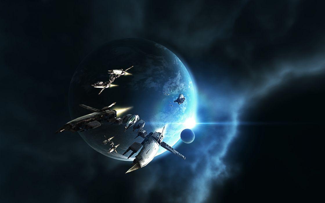EVE ONLINE sci-fi game spaceship    r wallpaper